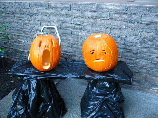 10-31-2011 Carved Pumpkins