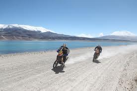 Dakar 2012 motorcycles