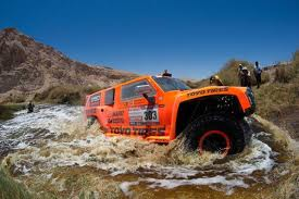 Robby Gordon forging a river