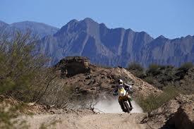 Dakar 2012 motorcycle