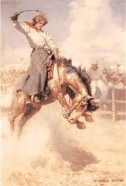 Rodeo Girl 1908